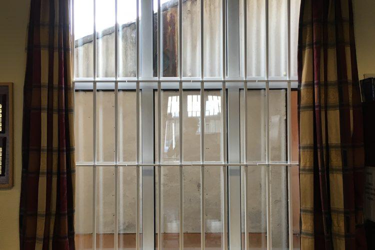 High Security Window Bar Installation.